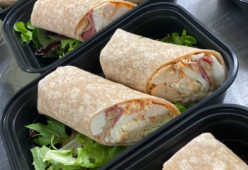 Buff Chick Breakfast Wrap