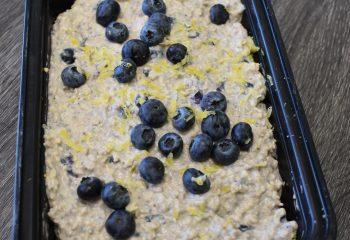 Blueberry Lemon Cheesecake Oats