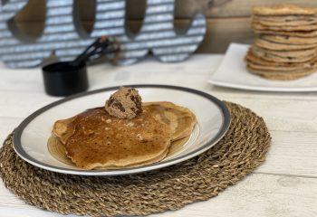 Spiced Raisin Pancakes
